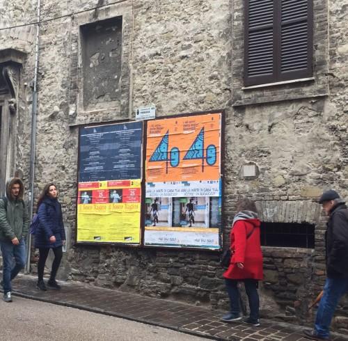 Perugia, via Pinturicchio